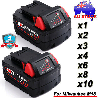 AU37.89 • Buy Battery For Milwaukee 18V M18 M18B4 M18B6 48-11-1828 /12V M12B4 M12B2 48-11-2440