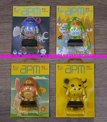 $22.99 • Buy Toy2R 2.5 Qee APM Egg Keychain Set Of 4pcs Kozik Mad Barbarians Touma + Kidrobot