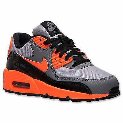 457d03c73d55a Nike Air Max 90 (TD) Toddler Shoes Sneakers 408110-036 Gray Orange