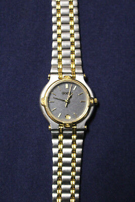 97ddcb62ec9 Authentic Vintage Gucci 9000L Swiss Made Women Gold Stainless Luxury Watch  E3B5 • 115.43