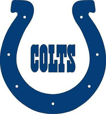 $5 • Buy NFL Indianapolis Colts Vinyl Decal Sticker Football For Car Truck Logo NFL