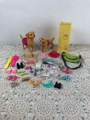 $ CDN20.69 • Buy Barbie Doll Accessories Mix Lot Vtg. & Current  , Shoes , Purses , Cards Dogs