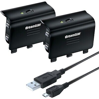 $19.98 • Buy DREAMGEAR DGXB1-6608 Xbox One Controller Battery/Cable Charge Kit