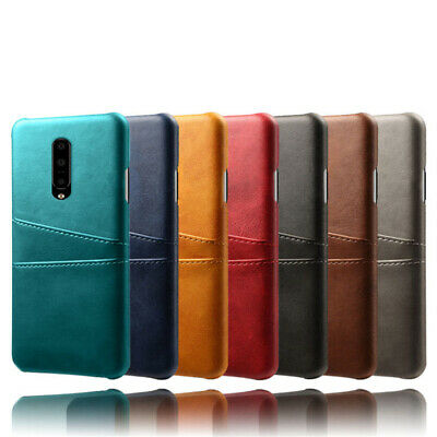 AU5.96 • Buy For OnePlus 8 7T Pro 6T 6 5T 5 Card Slot Wallet Leather Hard Back Case Cover