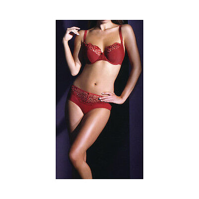 Panache Burnt Red Harmony Balconette U/W  28 Back • 16£
