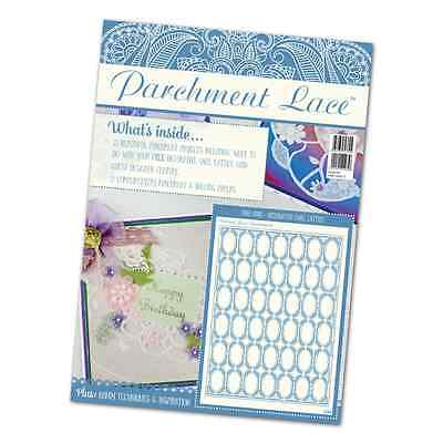 Tattered Lace Parchment Lace Magazine - Issue 3 - Free Decorative Lattice Grid • 7.95£