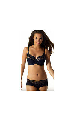 Panache Black Harmony Full Cup U/W Bra 30 Backs • 18£