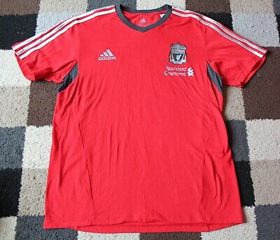 "LIVERPOOL FC 'Adidas' (Training Top Shirt) T-Shirt 2011-2012 (44/46"")  RARE • 15£"