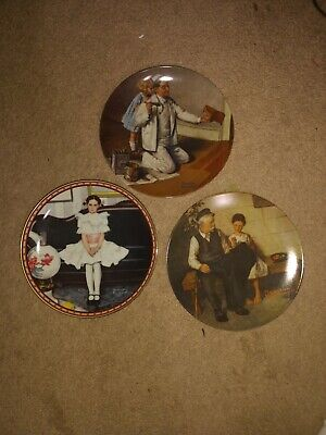 $ CDN38.93 • Buy Lot Of 3 PLATES Norman Rockwell 1979, 1983, 1986 Great Condition