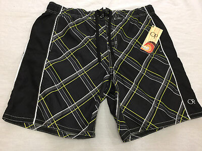 82b4239987 Nwt Op Mens Swim Shorts Size L 36-38 • 24.99$