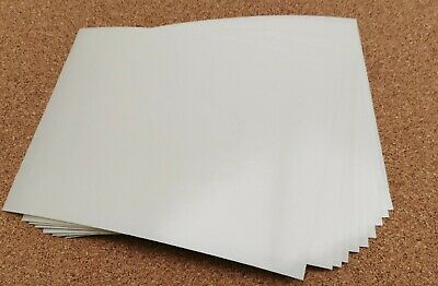 100 A5 Double Sided Adhesive Tape Sheets - Very Sticky • 18£