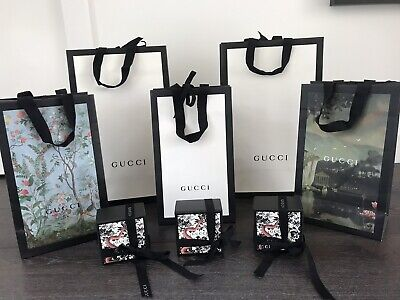 AU150 • Buy Gucci Paper Shopping Bags And Boxes - Authentic
