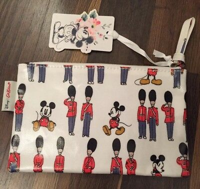 Cath Kidston Disney  Mickey X Guards Pencil Case/cosmetic Pouch Bnwt • 9.50£