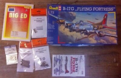 £77.47 • Buy Revell 1/72 B-17 G + Aftermarket Eduard Quickboost + Decals
