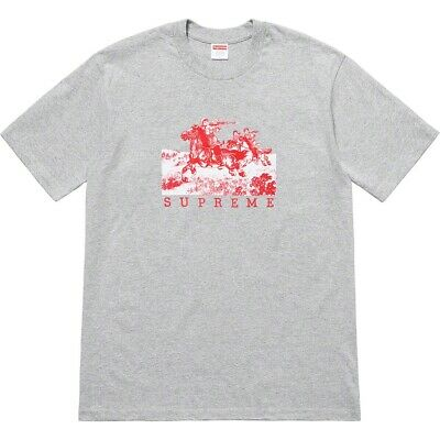 $ CDN95.31 • Buy Supreme SS19 Riders Tee BOX LOGO T-SHIRT CLASSIC CUPID GHOST 25TH ANNIVERSARY S