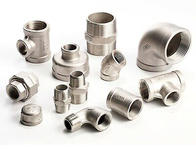 Stainless Steel Pipe Fittings 316 Grade 150lb  1/8  To 2  - VAT Invoice Inc. • 1.98£