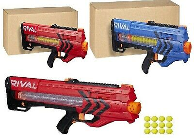 AU149 • Buy Nerf Rival Zeus MXV 1200 Blaster 12 Rounds Red Blue Play Gift Ages 14+ Toy Gun