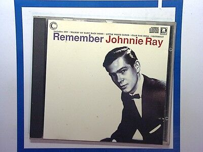 Remember Johnnie Ray Cd Mint • 8.99£