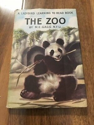 The Zoo  Ladybird Book With Dust Jacket By Me.gagg  • 15.99£