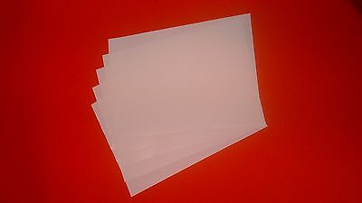 25 Double Sided A4 Adhesive Tape Sheets- Very Sticky  • 13.99£