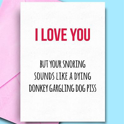 £2.95 • Buy Birthday Cards For Him Funny Card For Rude Humour Funny Birthday Cards For Men