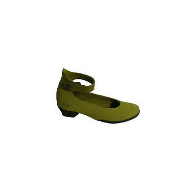 Arche Foghal Colibri Green Low Heeled Shoe With Ankle Strap • 89£
