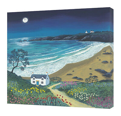 Jo Grundy - The Path To Moonlight Bay - Canvas Print Wall Art 2 Sizes Available  • 24.99£