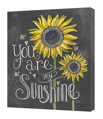 Lily & Val - You Are My Sunshine - 40 X 50cm Canvas Print Wall Art WDC94539 • 29.99£