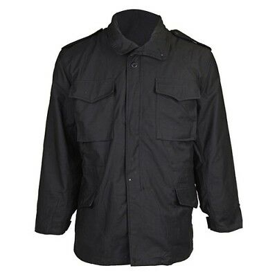 $49 • Buy TRU SPEC M-65 Field Coat With Liner Size Small Color  Black