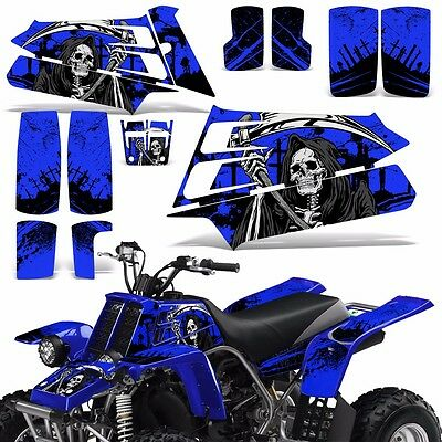 AU126.52 • Buy Decal Graphic Kit Yamaha Banshee 350 ATV Quad Decal Wrap Parts Deco 87-05 REAP U