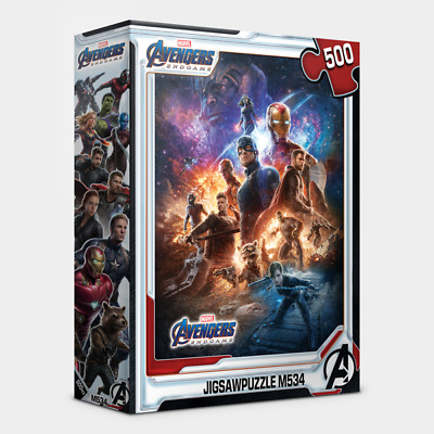 """$37.67 • Buy Jigsaw Puzzles 500 Pieces """"Avengers – End Game"""" / Marvel / M534"""