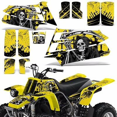 AU126.52 • Buy Decal Graphic Kit Yamaha Banshee 350 ATV Quad Decal Wrap Parts Deco 87-05 REAP Y