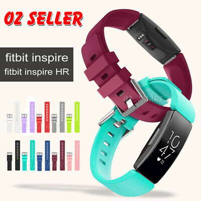AU6.45 • Buy Fitbit Inspire/inspire HR Replacement Silicone Watch Sports Band Strap Wristband