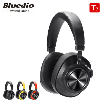 AU57.99 • Buy Bluedio T7 Bluetooth ANC Headphones Wireless Headset Music With Face Recognition