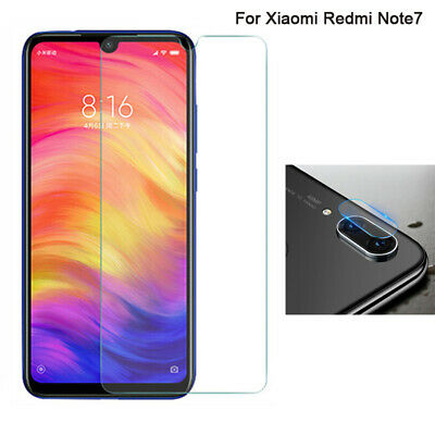 AU2.57 • Buy For Xiaomi Redmi Note 7 Camera Lens Tempered Glass / Screen Protector Film LOT