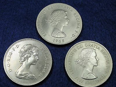 £9.99 • Buy Three Commemorative Crowns Coins 1960 1965 1972