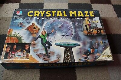 £14.50 • Buy MB Games CRYSTAL MAZE Time Travel Adventure Board Game VINTAGE 1991 VGC TV Show