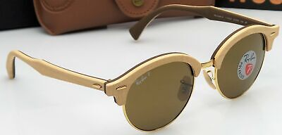 0953a85d8c Ray-Ban RB4246-M 1179/57 Clubmaster Madera 51mm Gafas De Sol Lente