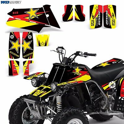 AU126.52 • Buy Decal Graphic Kit Yamaha Banshee 350 ATV Quad Decal Wrap Parts Deco 1987-2005 RS