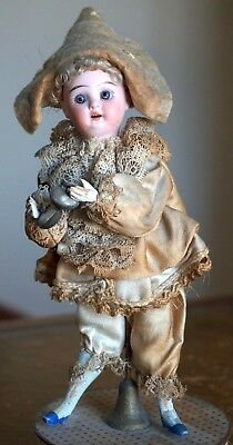 Antique Early 1900s German Bisque Doll By Schoenau & Hoffmeister On Candy Box • 449$