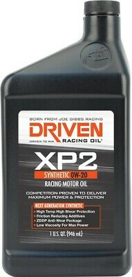 AU52.95 • Buy Driven XP2 0W-20 Synthetic Racing Oil 946mL JGR00206 Fits Toyota C-HR 1.2 (NG...