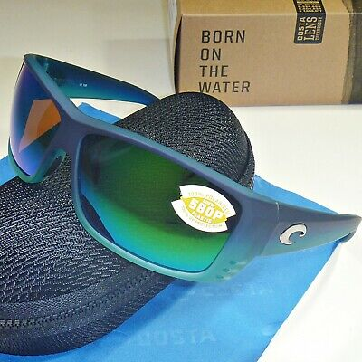 df972e2e16 Costa Del Mar Cat Cay Polarized Sunglasses-Caribbean Fade Green Mirror 580P  Lens •