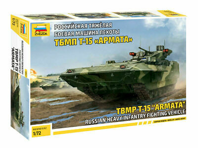 Zvezda 5057 Russian Heavy Infantry Fighting Vehicle TBMP T-15 Armata 1/72 • 16.99£