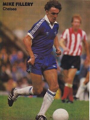 MIKE FILLERY (Chelsea & QPR Portsmouth FC) Hand SIGNED A4 Poster • 8£