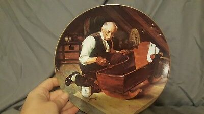 $ CDN16.52 • Buy Norman Rockwell   Grandpa's Gift  Collector Plate By Edwin M. Knowles LTD. EDIT.