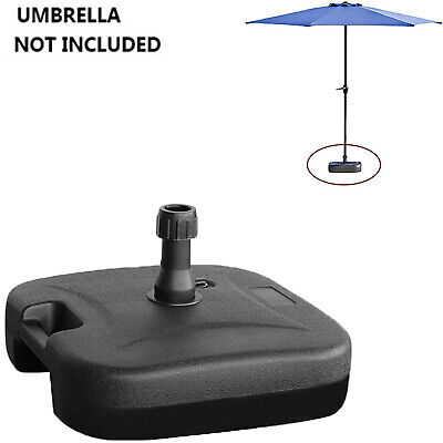 AU211.07 • Buy 22 Kg Outdoor Umbrella Square Parasol Base Stand Weight Plastic Water Filled