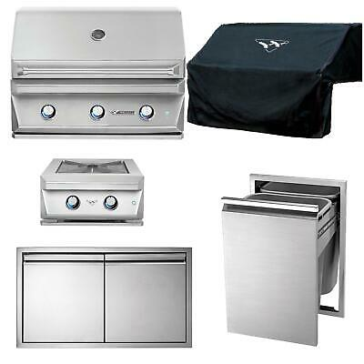 $8745 • Buy Twin Eagles 5-Piece 36-Inch Natural Gas Outdoor Kitchen Package