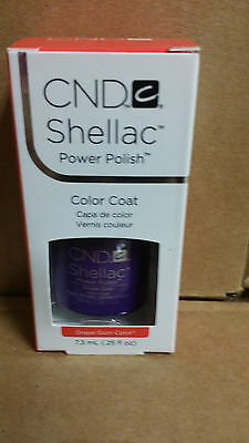 AU11.06 • Buy  Creative CND Shellac Soak Off Gel Polish  ~  Grape Gum .25 Oz UV Gel Polish