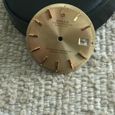 $ CDN726.60 • Buy Rolex Champagne Dial For 1600 1601 Vintage Datejust Watch T Swiss T For Parts