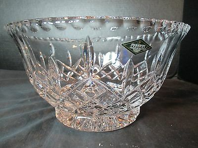 $20 • Buy Shannon 24% Lead Crystal Footed Center Bowl Fruit Bowl Salad Bowl Ireland 9 3/4